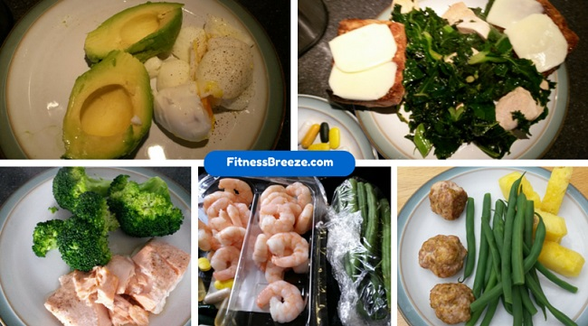 nutritious meals on a 12-week weight loss diet
