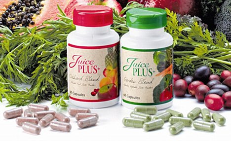 juice plus bottles berries and vegetables