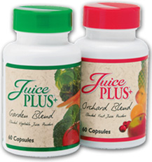 picture of juice plus bottles